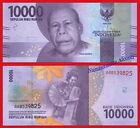 INDONESIA 10000 Rupiah rupias 2016 (2017) Pick NEW SC / UNC