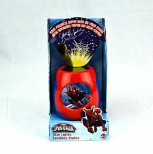 Kids Marvel Comics Ultimate Spider-Man STAR LIGHTS Ceiling Projector Blip Toys