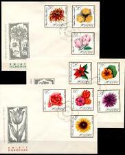 Gartenblumen. 3FDC. Polen 1966