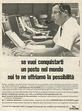 W6086 Radioscuola TV Italiana - Pubblicità 1967 - Advertising