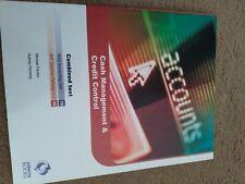 Osborne Accounting books AAT Level 4 NVQ Unit 15 Cash Management Credit Control