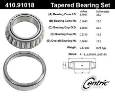 Centric Parts 410.91018E Front Inner Bearing Set