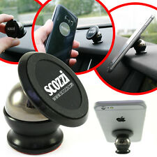 scozzi 360° KFZ Halterung für Apple iPhone 8 7 6 5 4 S X SE Auto Halter Magnet