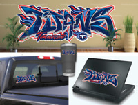 Tennessee Titans Graffiti Vinyl Vehicle Car Laptop Wall Sticker Decal