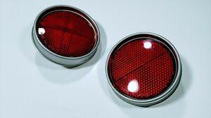 TOYOTA LAND CRUISER FJ40 REAR LH + RH REFLEX REFLECTOR LIGHT COUPLE