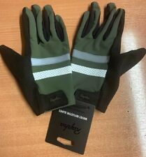 Rapha Brevet Reflective Cycling Gloves Green Medium Brand New With Tag