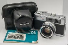 Parts - Minolta Hi-Matic 7s 35mm Film Rangefinder Camera Rokkor 45mm F1.8 Lens