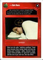 Star Wars White Border CCG Card Dark Hours