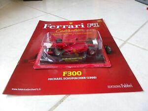 Ferrari F300 Schumacher #3 1998 1/43 F1 ixo altaya Fabbri F1+Specification
