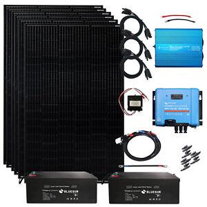 1890 Watt Solaranlage MPPT Laderegler Inselanlage Photovoltaik Komplett-Set