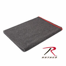 """10429 Rothco Grey Wool Survival Emergency Rescue Blanket 60"""" x 80"""""""