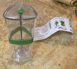 Cuisipro Herb Keeper Keeps Herbs Fresh Storage Container BPA free