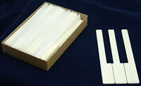 PIANO KEY TOPS  Simulated Ivory Finish  New One Piece