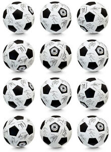 12x DFB Unterschriftenball weiß 80792-12 WM Edition 2018 Grösse 5 Turniergröße