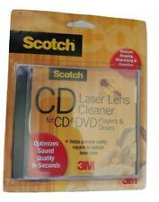 3M Scotch CD and DVD Laser Lens Cleaner AV101 CD DVD Sealed