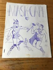 FANZINE BLOWOUT: Mask & Cape No. 2 RARE Second Edition No Back Page
