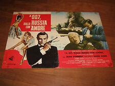 FOTOBUSTA,AGENTE 007 DALLA RUSSIA CON AMORE, Russia with Love,CONNERY,BOND,1964