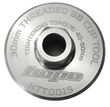 Hope 30mm Threaded BB Cup Tool - HTT0015S - Silver - Brand New