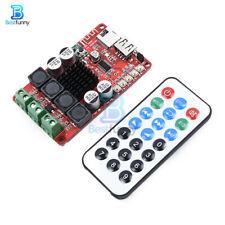 2x50W TPA3116 Amplifier TF Card Decoder Bluetooth Receiver Remote Control Board