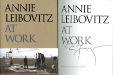 Annie Leibovitz SIGNED AUTOGRAPHED At Work HC 1st Edition 1st Print Vanity Fair
