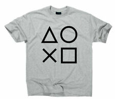 Gaming Buttons Gamer T-Shirt Konsole Icons Symbole Game Playstation Zeichen