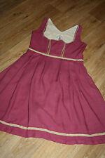 KL4302 @ Blusa vestidos típicos @ Vestido Dirndl @ Balkonette Década de los 70 @