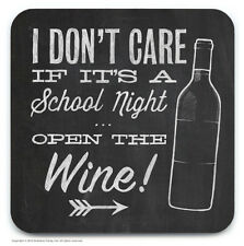 Brainbox Candy novelty wine beer drinks mat coaster funny cheap present gift