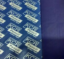 20 x A3 CARBON PAPER SHEET PACK HAND COPY - BLUE- KCR