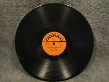 "78 RPM 10"" Record Don Cornell When You Are In Love & Give Me Your Love 61367"