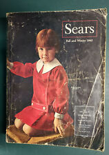 Vintage Catalog Sears 1965 Fall and Winter