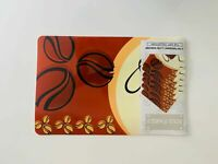 Set Of 6 Place Mats And Coasters Coffee bean Dining Table mats Washable