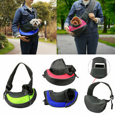 Pet Sling Carrier Bag Tote Shoulder Pouch Dog Cat Puppy Outside Travel Backpack