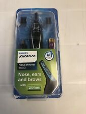 Philips Norelco NT3000/49 Nose and Ear Hair Trimmer - Black