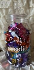 Personalised Sweet Sweetie Treat jar gift Any Name Couples
