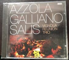 Marcel Azzola, Richard Galliano & Antonello Salis – Vignola Reunion Trio CD