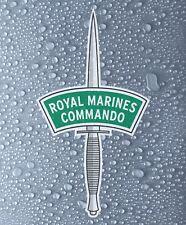 Royal Marines Commando - Full colour printed vinyl sticker