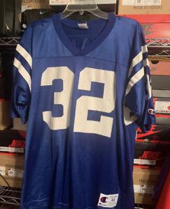 Vintage CHAMPION Edgerrin James #32 Indianapolis Colts NFL Jersey, Size: 44 L