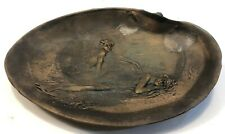 Antique Tiffany Style Bronze Ashtray/Plate