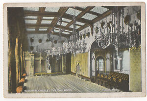 Balmoral Castle The Ballroom Aberdeenshire Scotland Postcard G D & D Not Posted