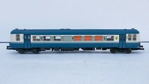 LIMA 208441 - autorail XAB 2132 SNCF bleu-blanc - en boite et fonctionne