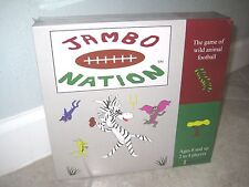 NEW Rare Limited Edition JAMBO NATION Football Animal Table Top Board Game 2006