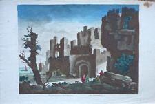 Rhodes: Ruines des environs de Rhodes (18éme)