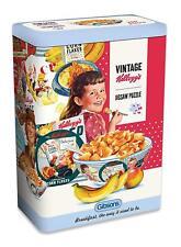 Vintage Kelloggs Corn Flakes Gibsons Jigsaw Puzzle Gift Idea