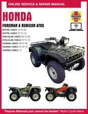 1997 Honda Foreman 400 Haynes Online Repair Manual - 1 YR Access