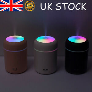 Electric Air Diffuser Aroma Oil Humidifier Night Home Car Relax Defuser Light Up