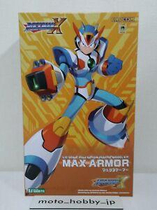 KOTOBUKIYA Rockman Megaman X Max Armor 136mm 1/12 scale Model Kit from Japan
