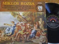ECL 9043 Rozsa Duo Op. 7 etc. / Granat / Pennario / Herbst