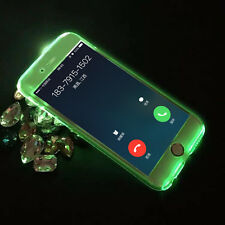 Luminous Selfie LED Flashing Light Hard Phone Case Cover for iPHone 6 6s Plus