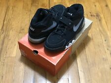 NIKE AIR FORCE MAX B RETRO 2001 BLACK GREY 624021 001 BARKLEY SIZE 10 DS NOT LOT