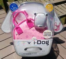 I-Dog MP3 Speaker White Pink Circles & Pink Carrying Bag New Sealed Hasbro
